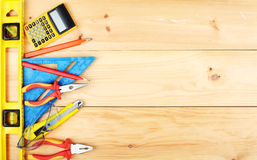 Construction tools. stock photos