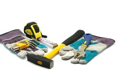 Construction tools Royalty Free Stock Image