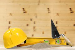 Construction tools Stock Photo