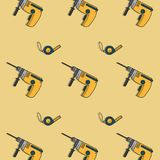 Construction tools background. Icon vector illustration graphic design Stock Photography