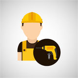 Construction tools design Royalty Free Stock Images