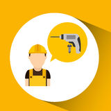 Construction tools design Stock Images