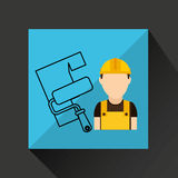Construction tools design. Illustration eps10 graphic Stock Photo