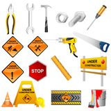Construction Tools Royalty Free Stock Images