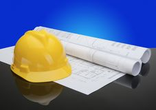 Construction Tools and Equipment Royalty Free Stock Image