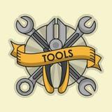 Construction tools equipment. Icon vector illustration graphic design Stock Image