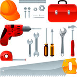 Construction tools Stock Photos