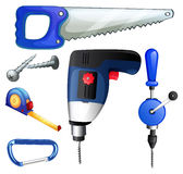 Construction tools and equipments Stock Photos
