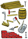 Construction tools Stock Photos