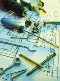 Construction tools series Stock Photos