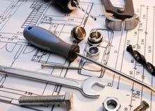 Construction tools series Royalty Free Stock Photo
