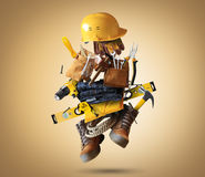 Construction tools vector illustration