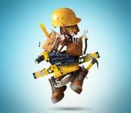 Construction tools royalty free illustration