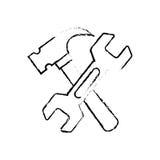 Construction tools symbol Stock Photography