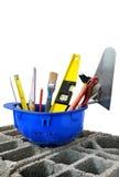 Construction tools three Royalty Free Stock Image