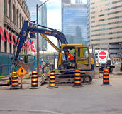 Construction In Toronto Stock Photography