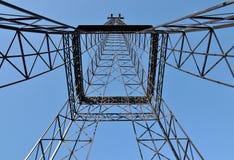 Construction towar en acier - monstre industriel Photo libre de droits