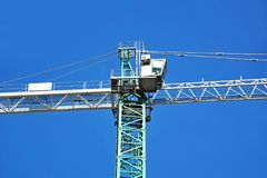 Construction tower crane Stock Photos