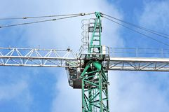 Construction tower crane Royalty Free Stock Photography