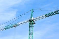 Construction tower crane Stock Photos