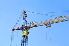Construction tower crane Royalty Free Stock Photos