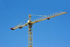 Construction tower crane Royalty Free Stock Photo