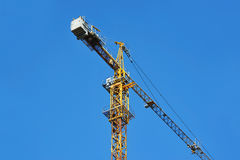 Construction tower crane Stock Image
