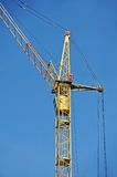 Construction tower crane Stock Photo
