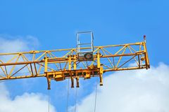 Construction tower crane Stock Photography