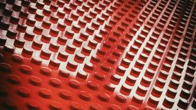 construction toy bricks surface background 3d illustration Stock Images