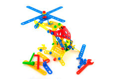 Construction toys Royalty Free Stock Photography