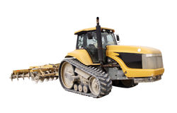 Construction tractor Stock Photography