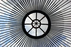 Construction of traditional Mongolian Yurt Tent Royalty Free Stock Photos