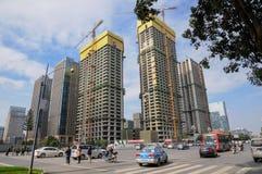 Construction and traffic,Chengdu Stock Photos