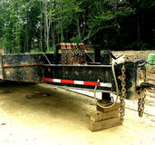 Construction - Trailer Hitch Royalty Free Stock Images