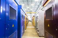 construction transformer substation Stock Photo