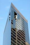 Construction triangulaire de forme dans Chica Photos libres de droits