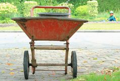 Construction trolley Royalty Free Stock Images