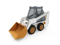 Construction truck isolated view Stock Image