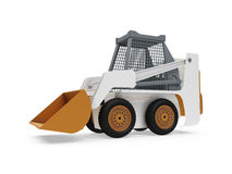 Construction truck isolated view Stock Photography