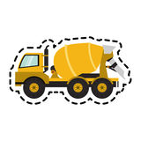 Construction trucks design Stock Photography