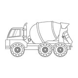 Construction trucks design Royalty Free Stock Photo