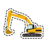 Construction trucks design Royalty Free Stock Images