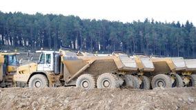 Construction Trucks Royalty Free Stock Photo