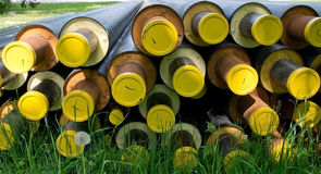 Construction tubes Royalty Free Stock Photo