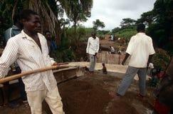 Construction in Uganda Royalty Free Stock Image