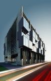 Construction ultramoderne   Photo libre de droits