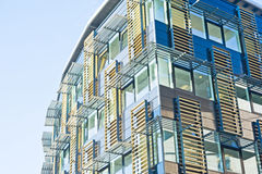 Construction ultramoderne : conception avancée. Photos stock