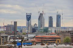 Construction un London Royalty Free Stock Images