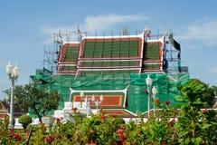Construction un temple photo stock